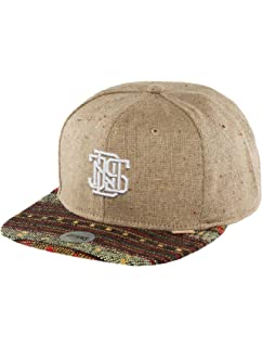e253654a1 Djinns Herren Caps / Snapback Cap 6P Jersey Aztec schwarz ...