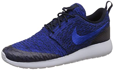 7d5f05abbafd7 Nike Womens Rosherun Flyknit Running Trainers 704927 Sneakers Shoes (US  6.5, Dark Obsidian Racer