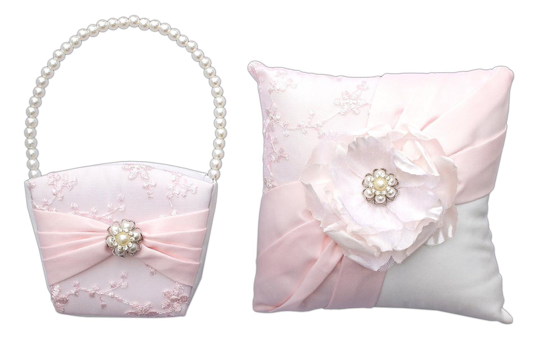 Amazon Bundle Of Lillian Rose Ring Bearer Pillow And Flower