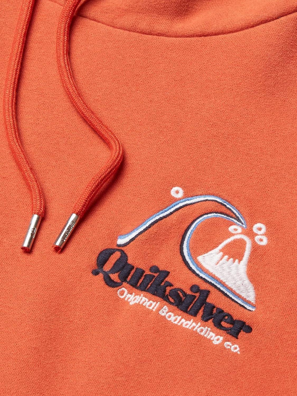 Quiksilver Men's Sweet AS Slab Hood Fleece: Clothing