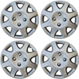 "14"" Set of 4 Hubcaps Honda Civic Wheel Covers Design Are Universal Hub Caps Fit Most 14 Inch Wheels"