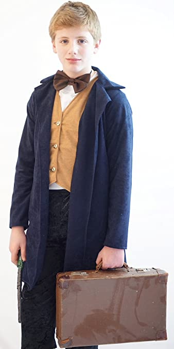 1920s Children Fashions: Girls, Boys, Baby Costumes 20s Fantastic Beasts and Where To Find them Newt Scamander - From Sizes Small-Large $70.00 AT vintagedancer.com