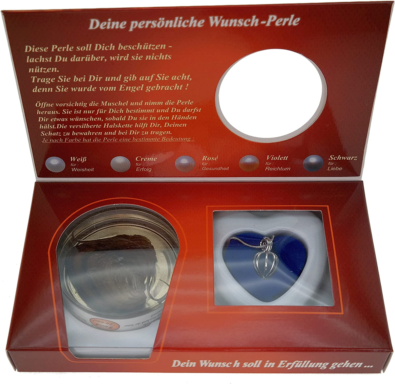 Schutzengel Shell - Perla con cadena de plata