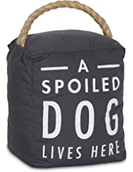 """Pavilion Gift Company 72198 Spoiled Dog Door Stopper, 5 x 6"""""""