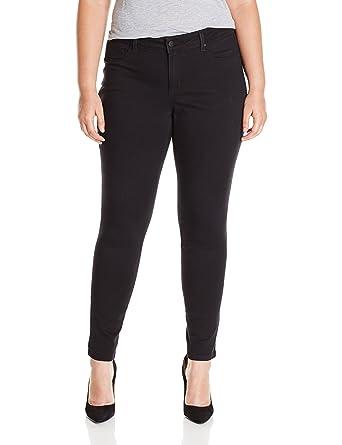 09a10d72572 Jessica Simpson Women s Plus-Size Kiss Me Super Skinny Pant at Amazon Women s  Clothing store