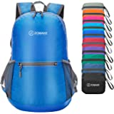 ZOMAKE Waterproof Ultra Lightweight Packable Backpack Hiking Daypack,Small Backpack Handy Foldable Travel Outdoor Backpack Ultralight Backpack(Dark Blue)
