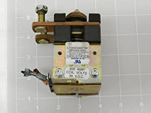 Contact Industries CT300A36D1M, 10RG05-54G Contactor- 300 AMP. 36 VDC T86794
