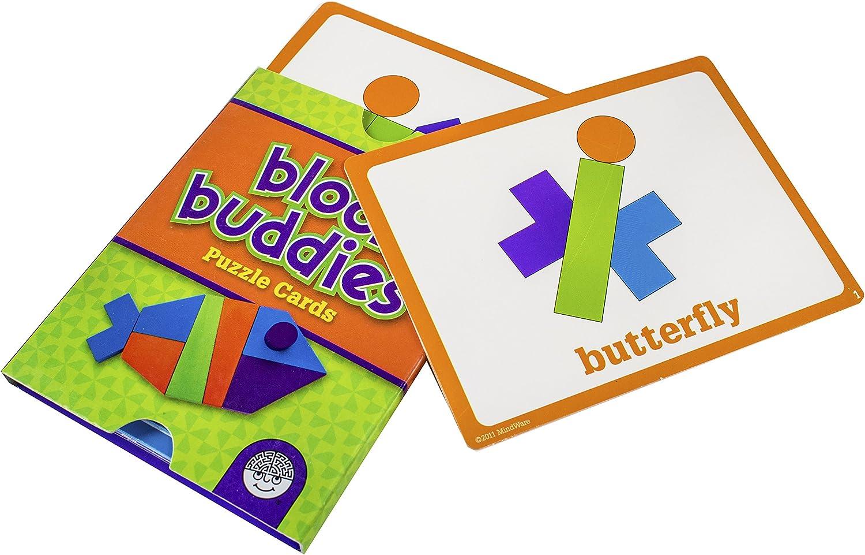 MindWare Block Buddies Teaching Game Building Blocks Game Wood Toy Game Buddy Building Game Brain Toy