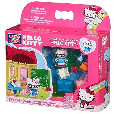 Mega Bloks Hello Kitty Science Class: Toys & Games [5Bkhe0506021]