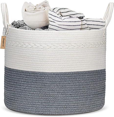 COSYLAND Extra Large Woven Storage Basket
