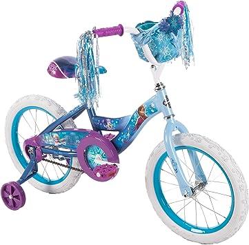 Huffy Disney Frozen - Bicicleta con Ruedas de Entrenamiento (40,6 ...