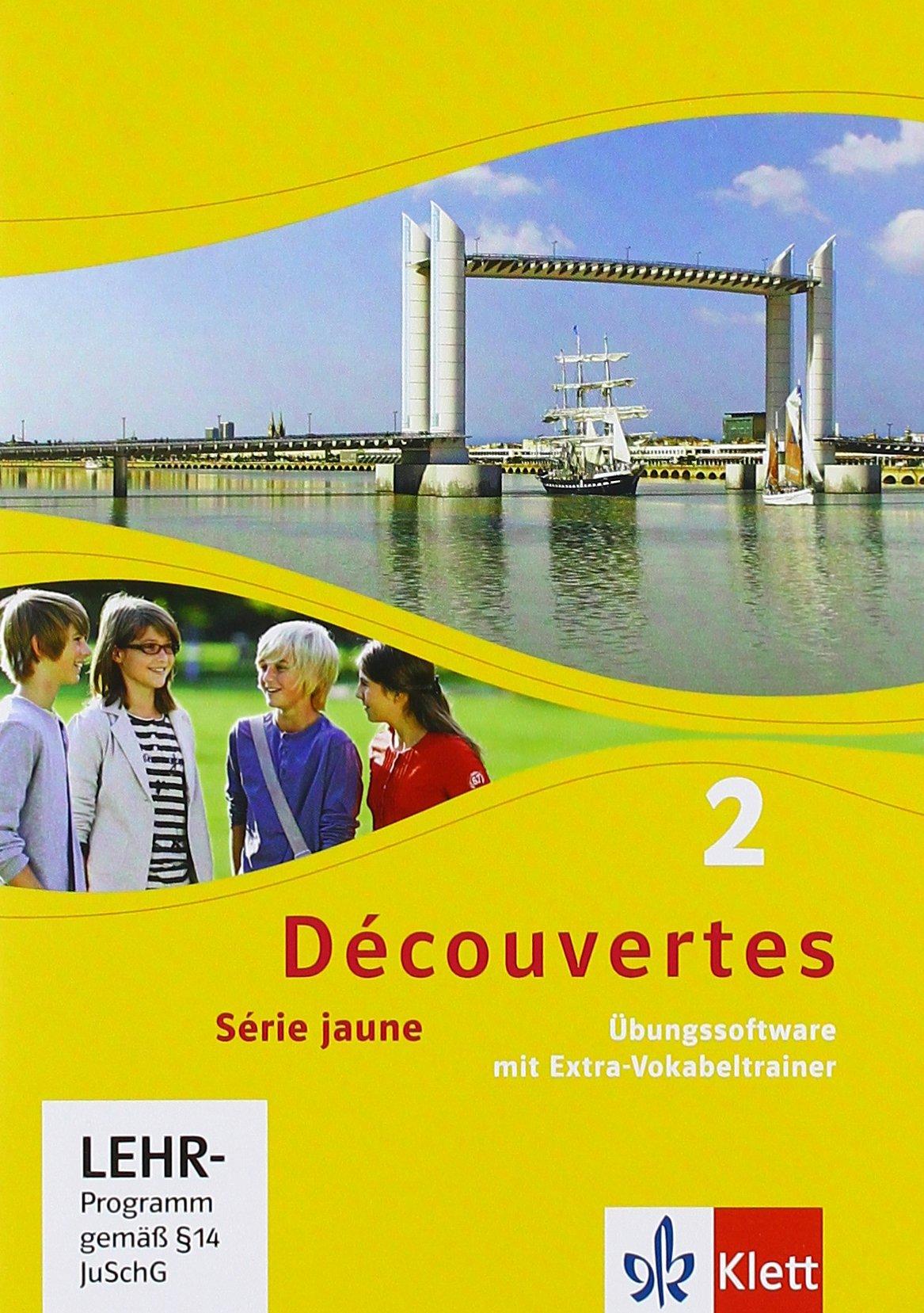 Découvertes 2. Série jaune: Übungssoftware mit Vokabeltrainer, Einzellizenz 2. Lernjahr (Découvertes. Série jaune (ab Klasse 6). Ausgabe ab 2012)