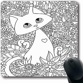 Alfombrilla de ratón Oblong Child Doodle del libro de ...