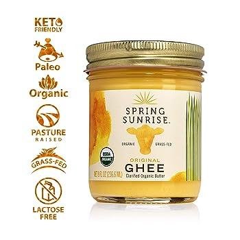 Spring Sunrise Organic Ghee Butter