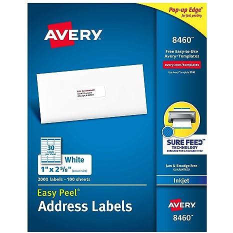 Amazon.com: Avery etiquetas para direcciones separa-fá ...