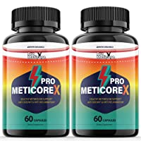 (2 Pack) Pro Meticore X Supplement Pills Advanced Reviews Metabolism Manticore Prime Extra Strength Medicore Pills - 120 Capsules