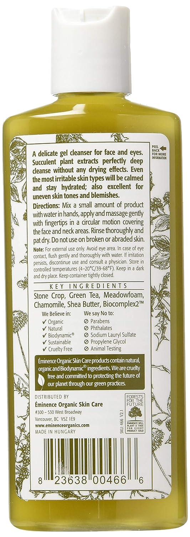 Eminence Organic Skincare. Stone Crop Gel Wash 125 ml