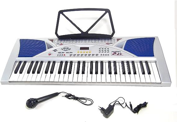 Teclado 54 teclas DynaSun MK2054 LCD Keyboard E-Piano Electronico Digital, Función de enseñanza inteligente