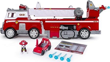 Kleines Feuerwehrauto mit Blaulicht und Sirene ab 3 Jahren