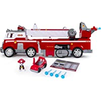 Paw Patrol 6043989 Ultimate Rescue Fire Truck with Extendable 2ft Ladder, for Ages 3 and Up, Multicolour