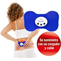 Med-Fit Mini TENS estimulador muscular. Recargable y inalámbrico -Trata el dolor de la espalda, ciática, cuello, rodilla, artritis y dolor muscular, ideal para los músculos doloridos y estresados