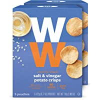 WW Salt and Vinegar Potato Crisps - Gluten-Free, 2 SmartPoints - 2 Boxes (10 Count Total) - Weight Watchers Reimagined