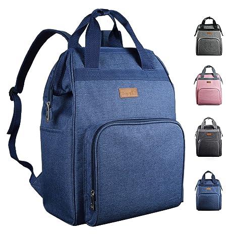 Mochila con bolsa de pañales, mochila de viaje multifunción ...