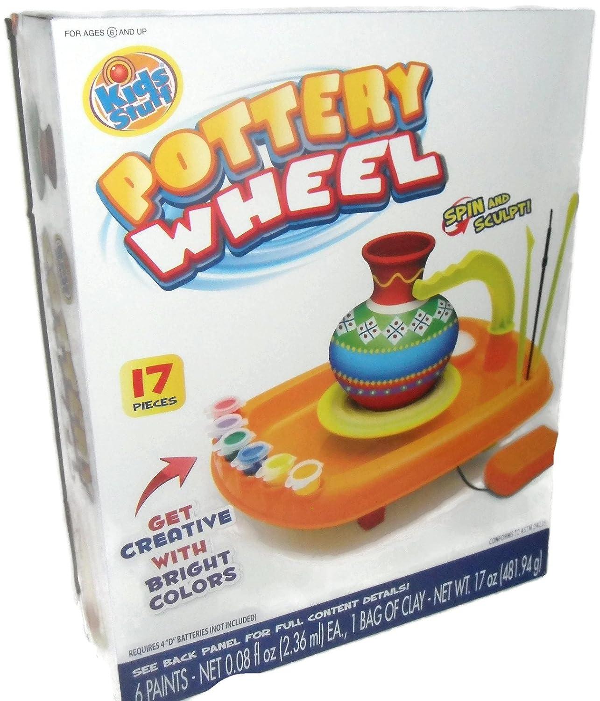 Kids Stuff Pottery Wheel Kit