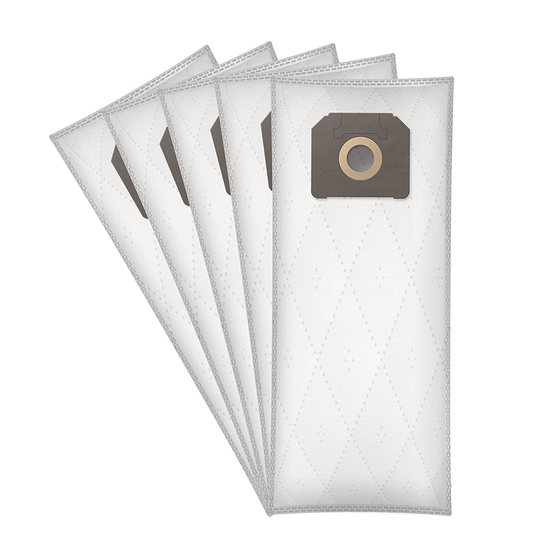 5 piezas, sint/éticas ✧WESSPER/® Bolsas de aspiradora para K/ärcher NT 65//2 Eco Tc