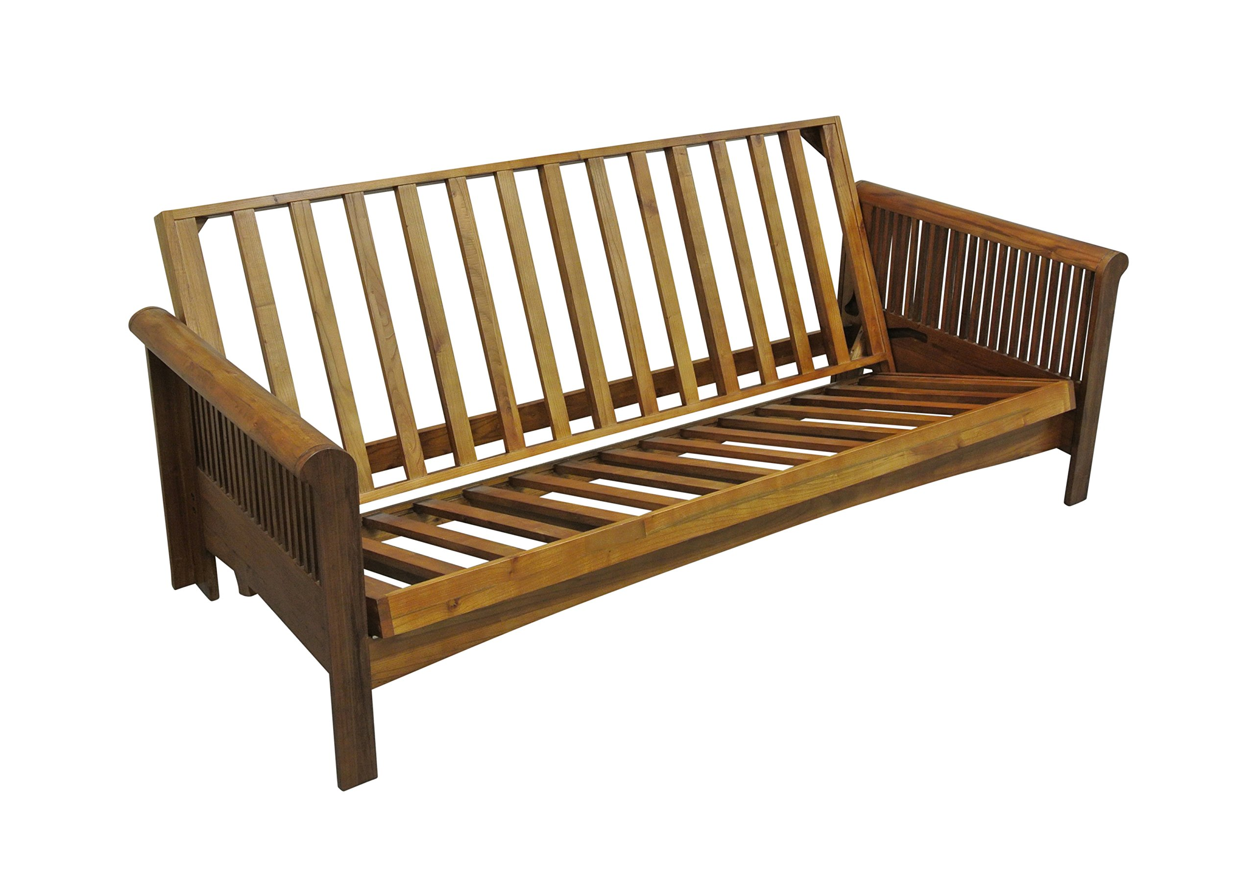 Gold Bond Portland Cherry Oak Futon Frame, Full, Brown by Gold Bond