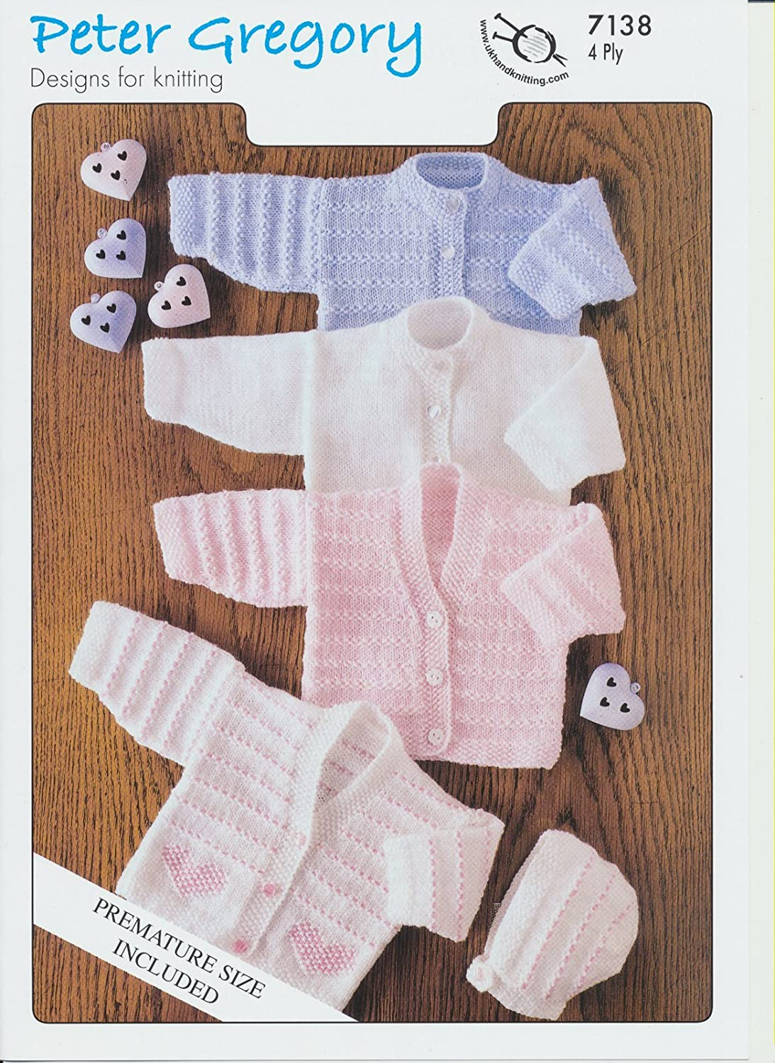 7209 Baby Knitting Pattern in 4 Ply