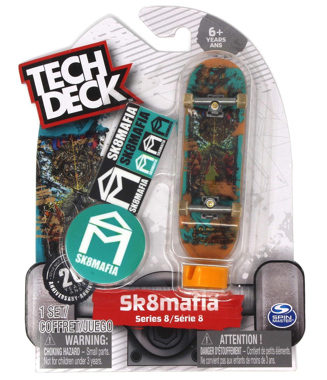 Tech Deck Sk8mafia Skateboards Series 8 Jamie Palmore 7 Wonders Fingerboard