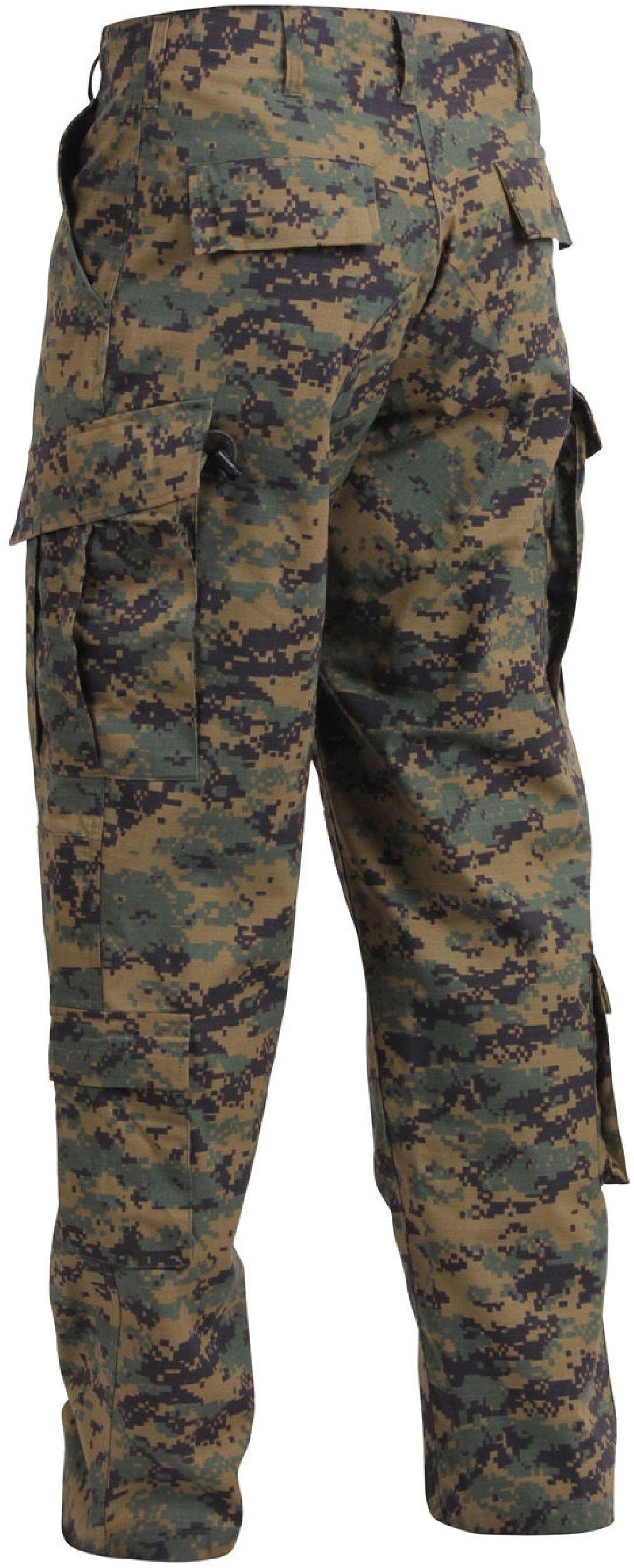 Woodland Digital Camouflage Combat Tactical Military Uniform