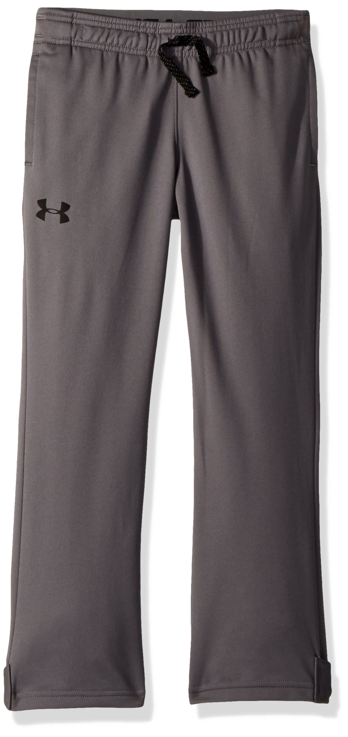 Under Armour Boys' Brawler Slim Pants,Graphite (040)/Black, Youth X-Small