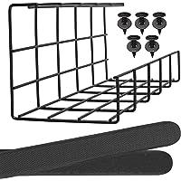 Kabelränna Under Bordet – Hållbar Kabelarrangör för Kabelhantering. Kabelgömma av Metall till Kontor, Studio och Hem…