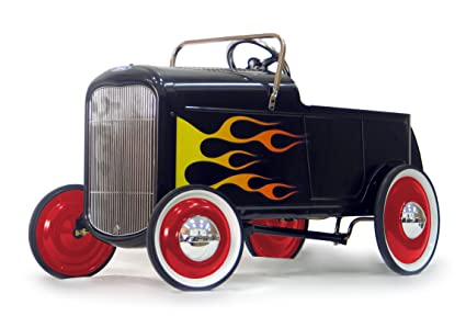 Amazon.com: 1932 Flamed Roadster Pedal Car: Toys & Games