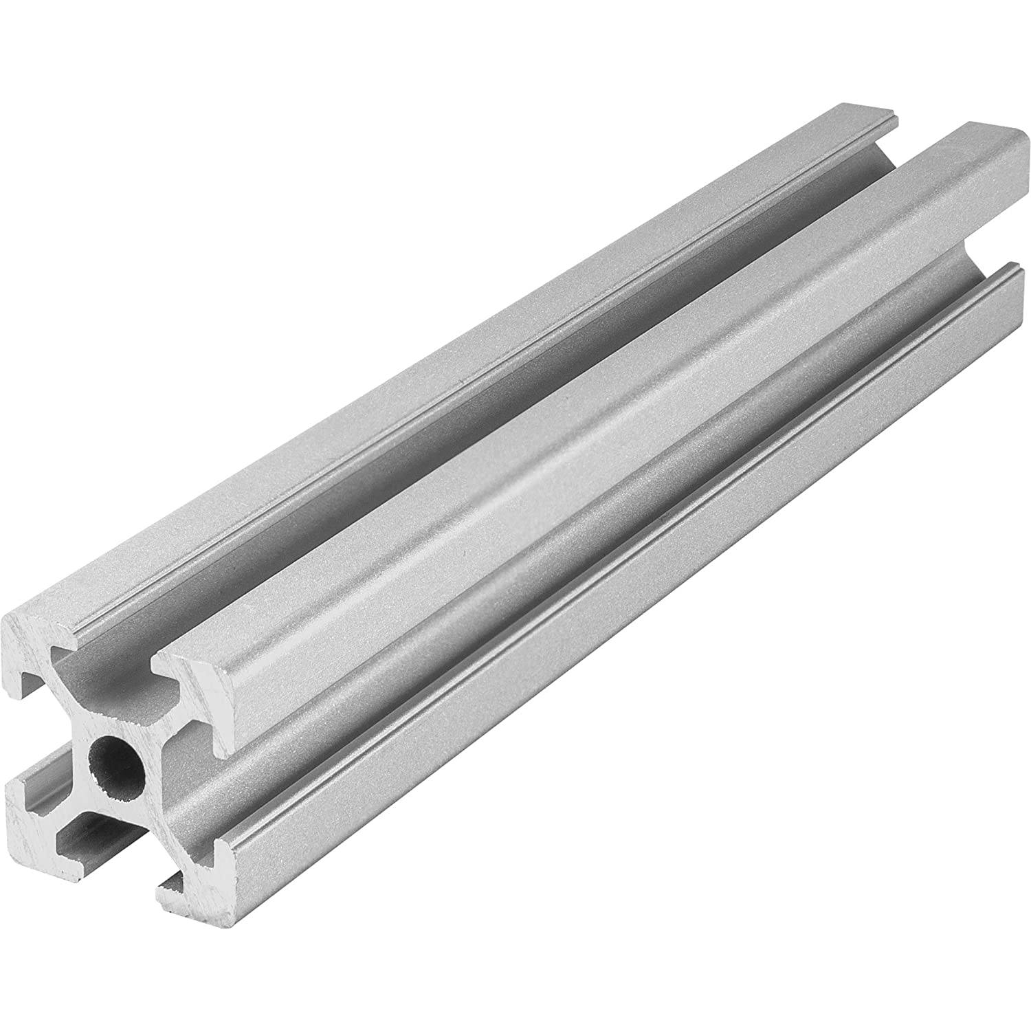 Aluminium Extrusion Profile 20x20 T-Slot 6 mm (1100 mm) LED-Glass