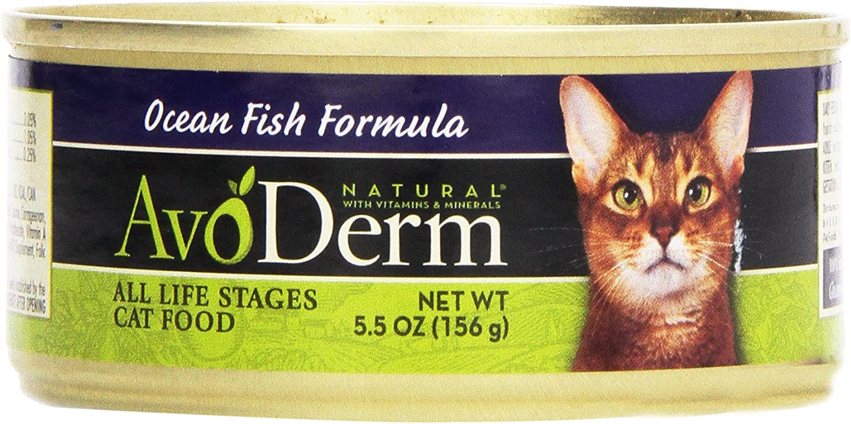 Avoderm, Cat Food Ocean Fish, 5.5 oz