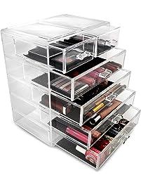 Exceptionnel Sorbus Cosmetics Makeup And Jewelry Big Storage Case Display   Stylish  Vanity, Bathroom Case (