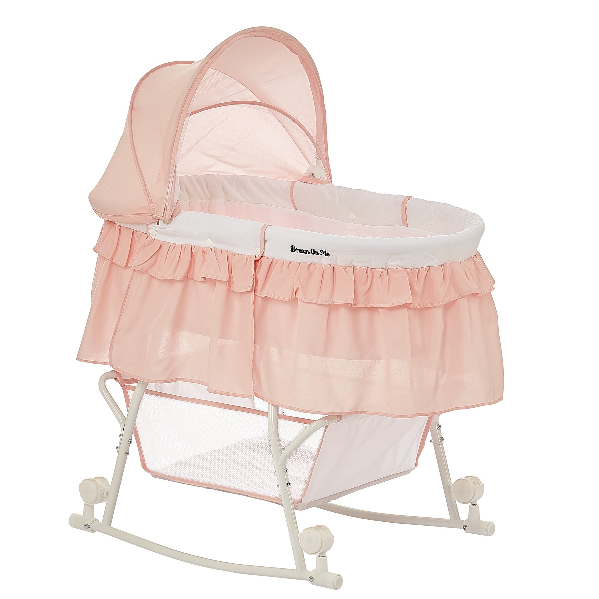 Dream on Me Lacy Portable 2-in-1 Bassinet by Dream On Me