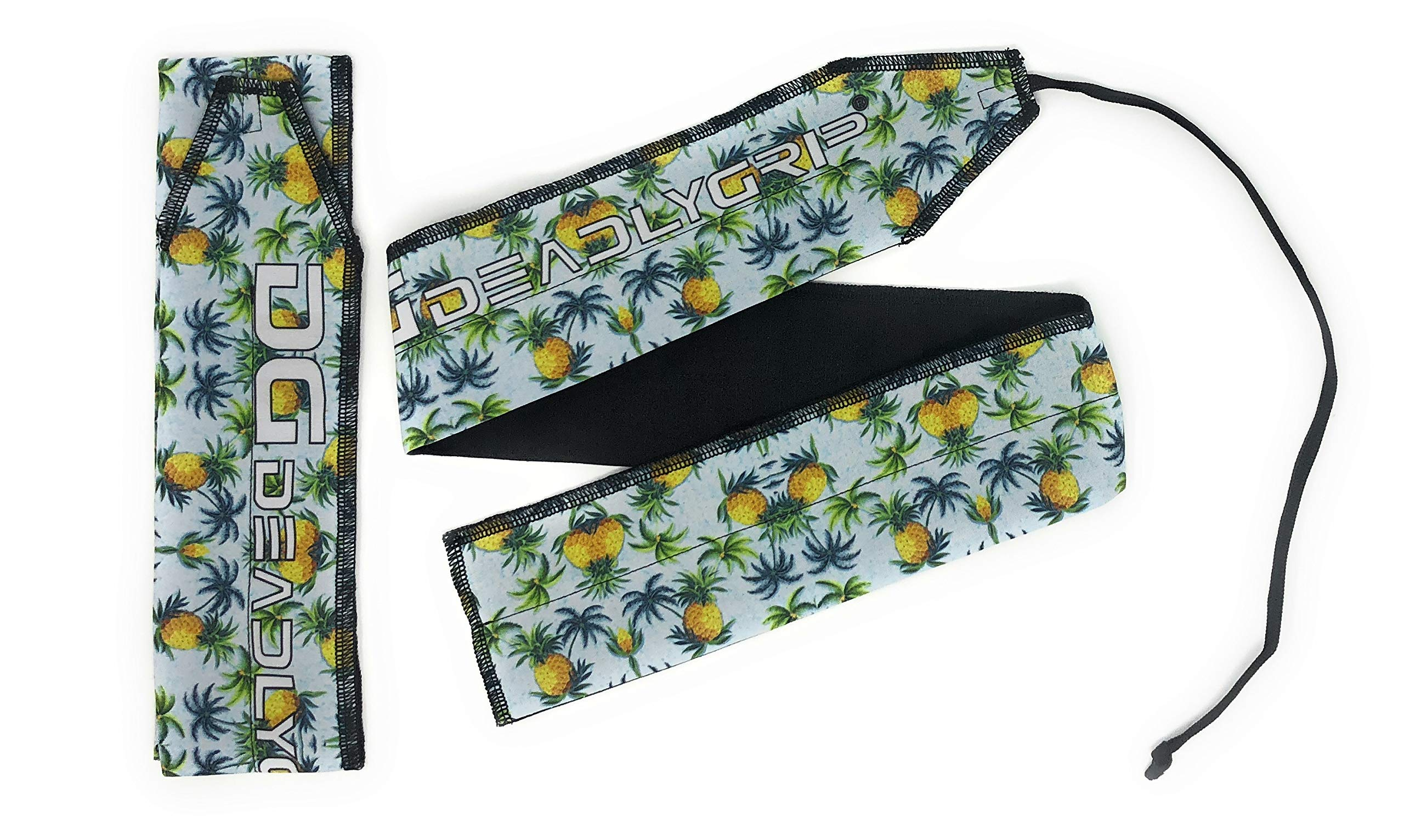 Deadly Grip DG Wrist Wrap. for Maximum Wrist Support Special for Crossfit, Power Lifting, Calisthenics and More. (Ananas)