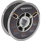 AmazonBasics Premium PLA 3D Printer Filament, 1.75mm, Black, 1 kg Spool