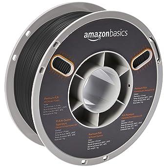 3d Printer Consumables Black Sporting New Amazon Basics 3d Printer Filament 1 Kg 1.75mm Abs