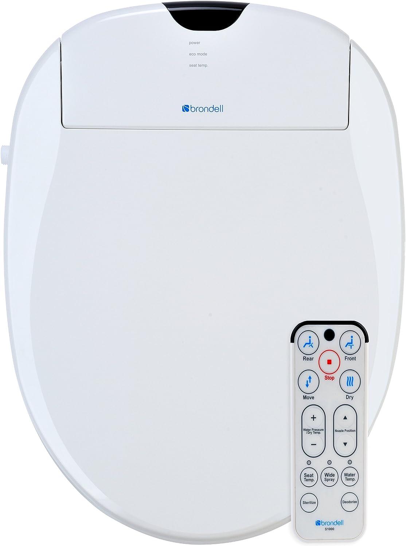 Brondell S1000-EW Heated Toilet Seat