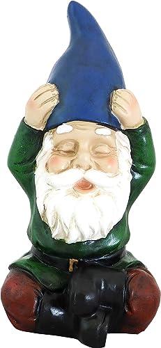 Sunnydaze Sage The Yoga Garden Gnome Statue