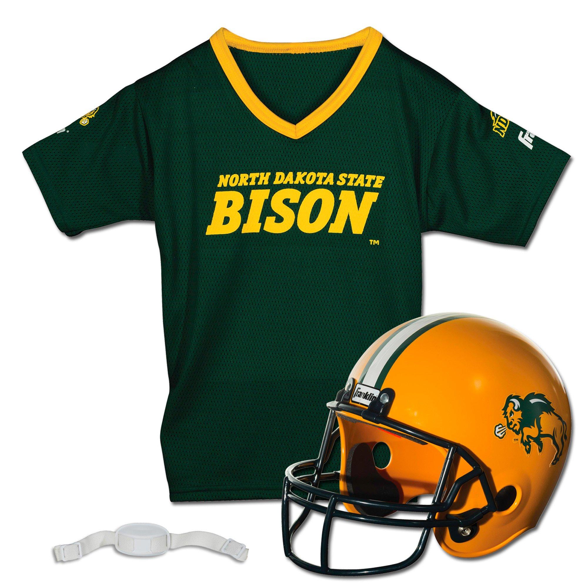 Franklin Sports NCAA North Dakota Youth Helmet and Jersey Set, Green