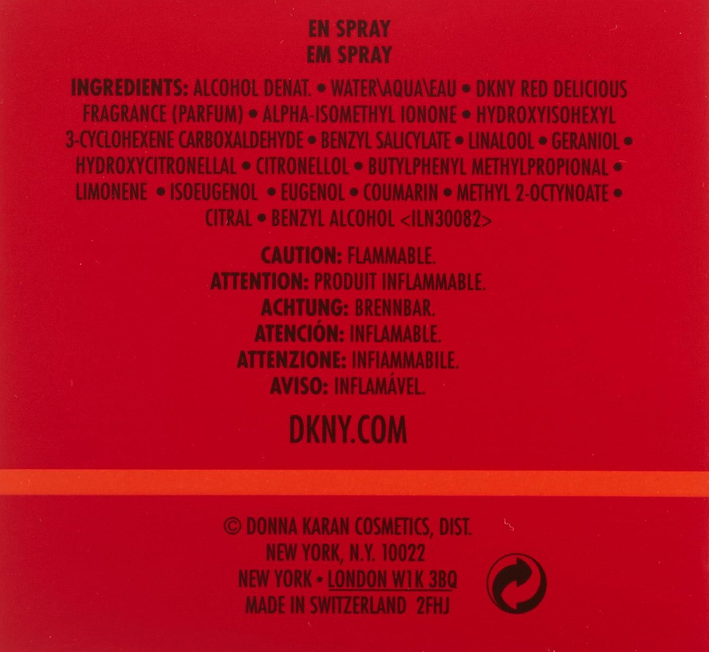 Dkny Red Delicious For Women Eau De Parfum 30 Ml Amazoncouk Beauty