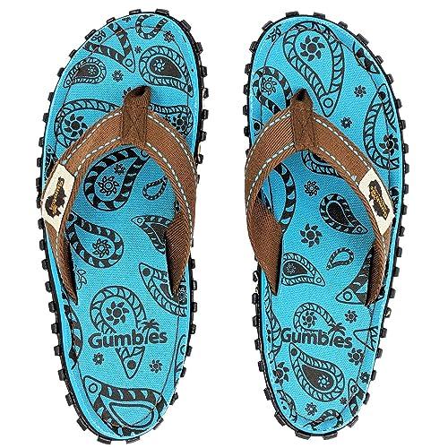 a9dffc4af990 Gumbies - Islander Canvas Flip-Flops Paisley  Amazon.co.uk  Shoes   Bags