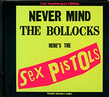 Nevermind the bullocks heres the sex pistols