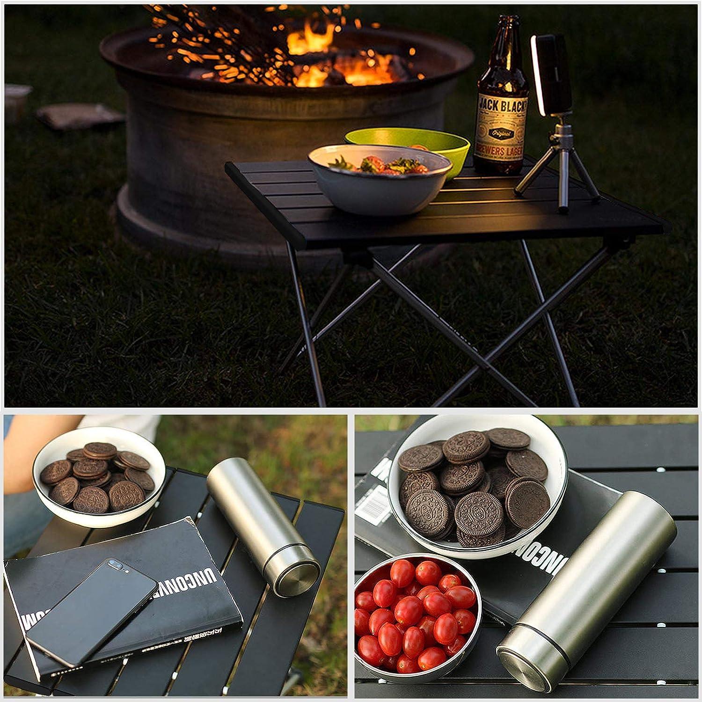 Playa Cocina Picnic Create Idea S//L Comedor Barco Mesa de Picnic Plegable de Aluminio para Camping